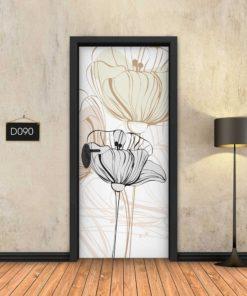 פרחים עדין D090