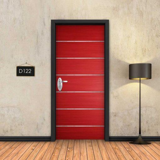 אדום 6 פסי ניקל D122