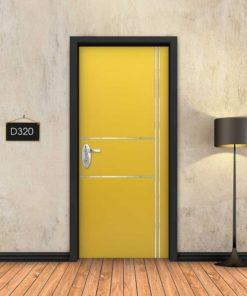צהוב 2X2 פסי ניקל D320