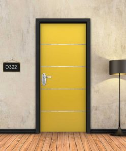 צהוב 4 פסי ניקל D322