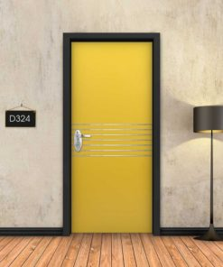 צהוב 7 פסי ניקל D324