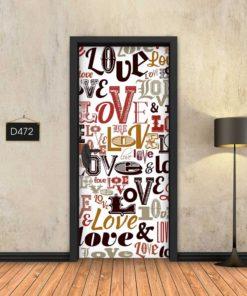 ענן מילים אהבה D472
